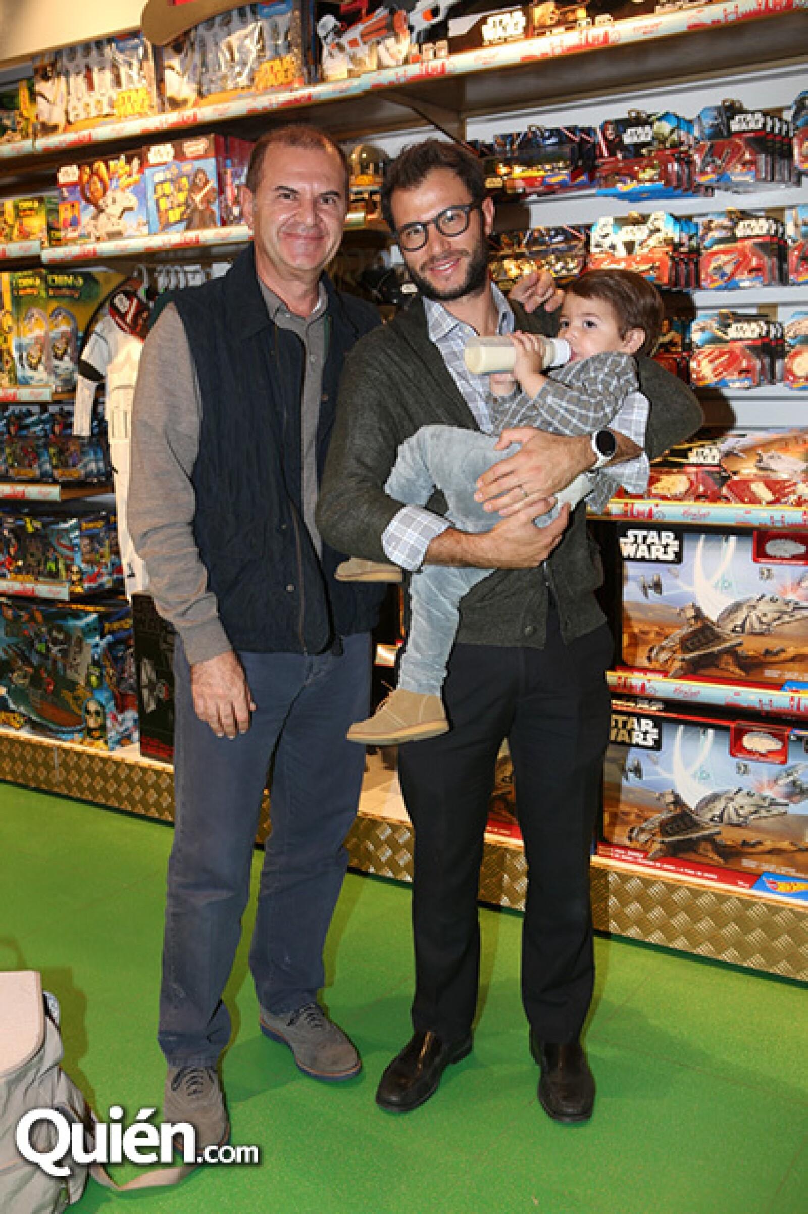 Jorge,Jorge y Jorge Aboumrad