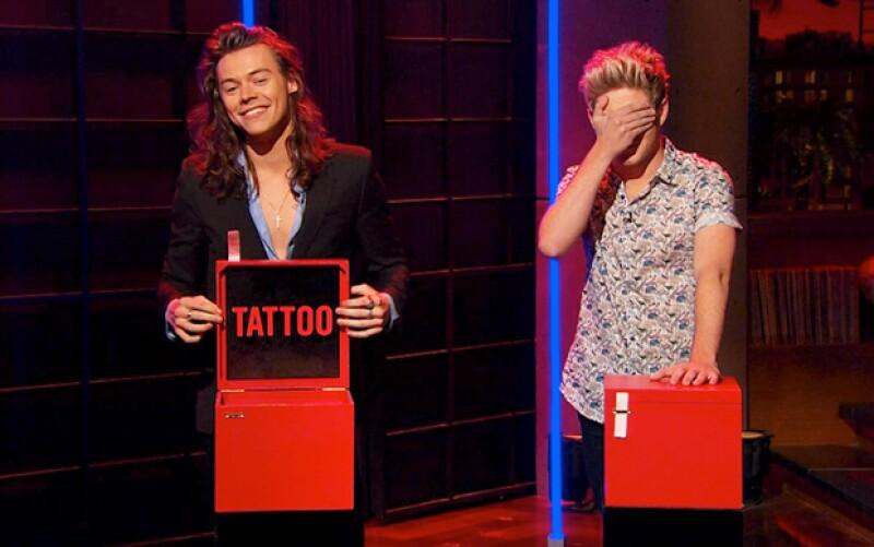 El que tuvo la caja con la indicación fue Harry.