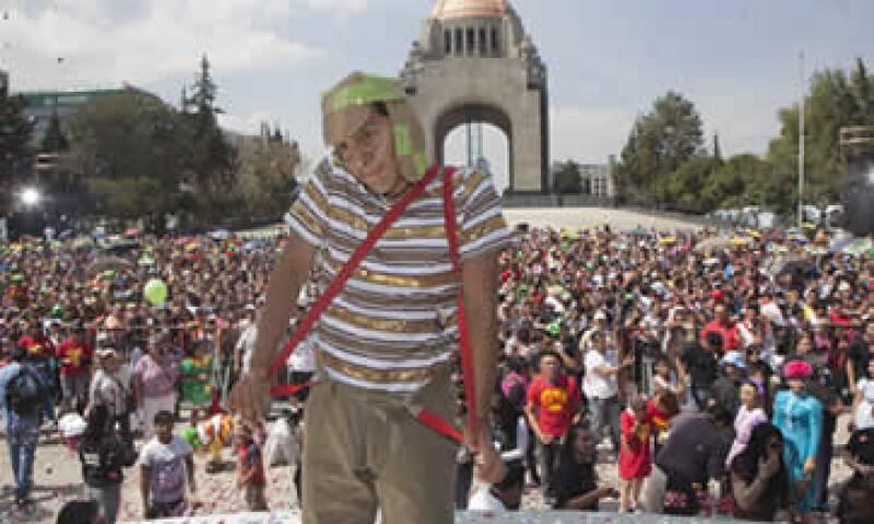 El Chavo es la serie de televisión más vista en la historia de México. (Cuartoscuro)