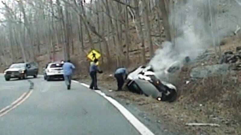 auto rescate explosion