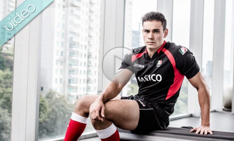 Aunque tiene apellido francés, Pascal es el Capitán de la Selección Mexicana de rugby, y tiene toda la sexytud que un jugador de rugby necesita para triunfar. Y, claro, también el talento.