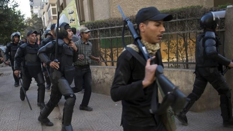 policías Egipto detención Hermandad Musulmana