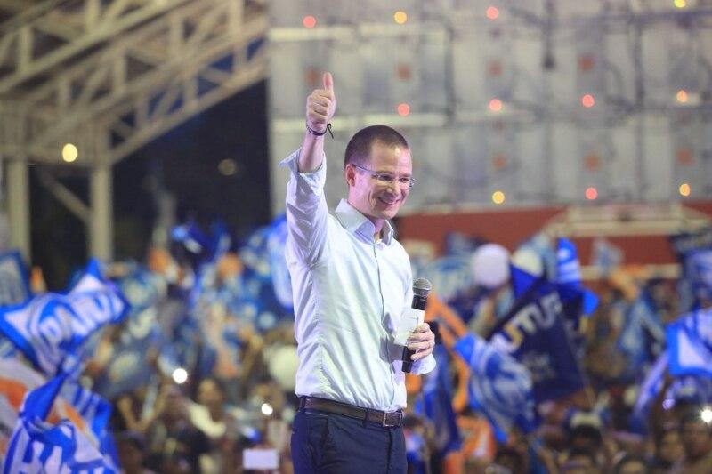 Ricardo Anaya en Campeche