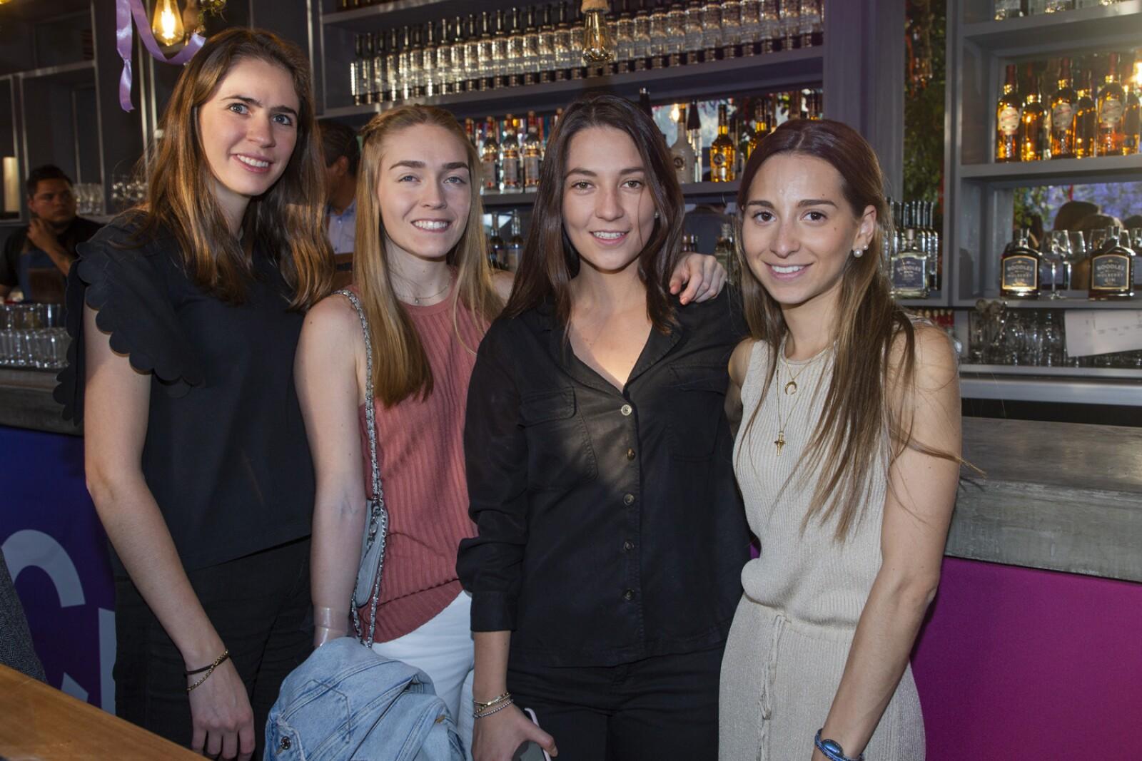 Paula Perlon, Maria Artigas, Fernanda Padilla, Victoria Alcocer