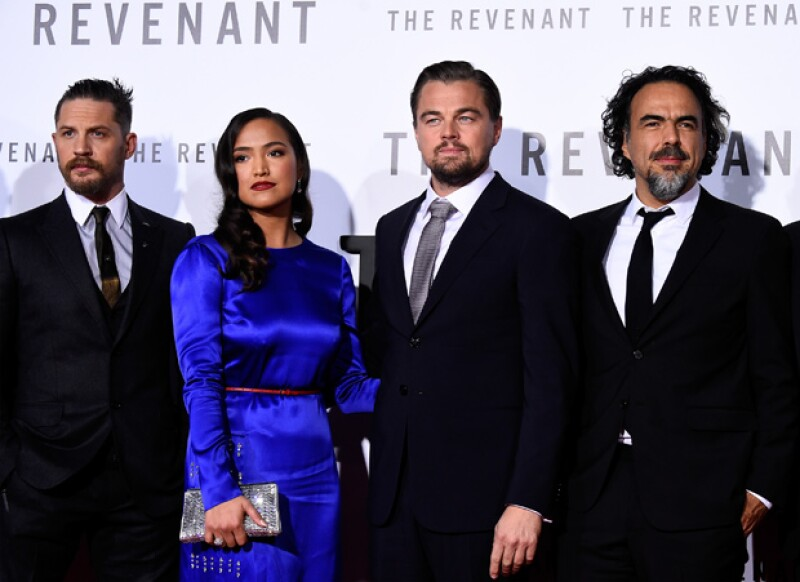 El director mexicano continúa cosechando éxitos y su película es nominada en ocho categorías en los BAFTA, mientras que Leonardo DiCaprio obtiene una como Actor Estelar.