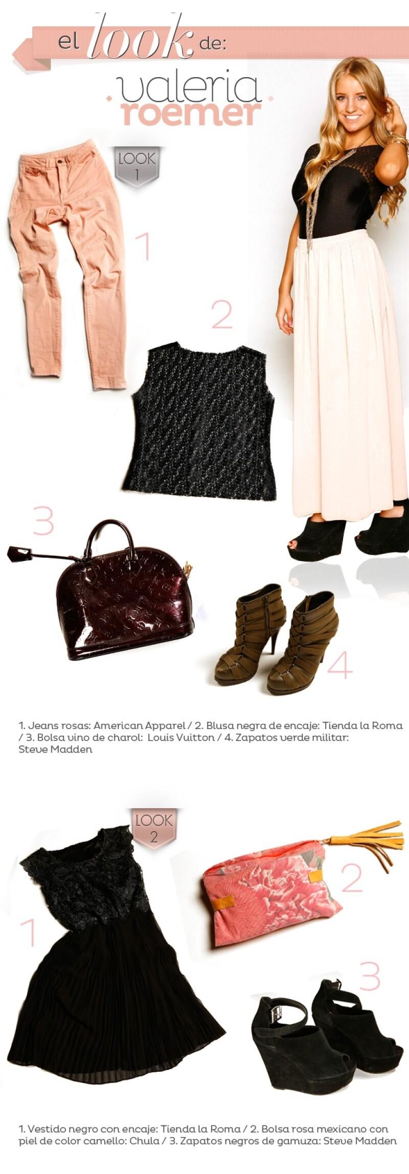 Su estilo es original, suele ir a las tiendas de la colonia Roma a buscar prendas de diseñadores internacionales poco conocidos y las combina con accesorios vintage.