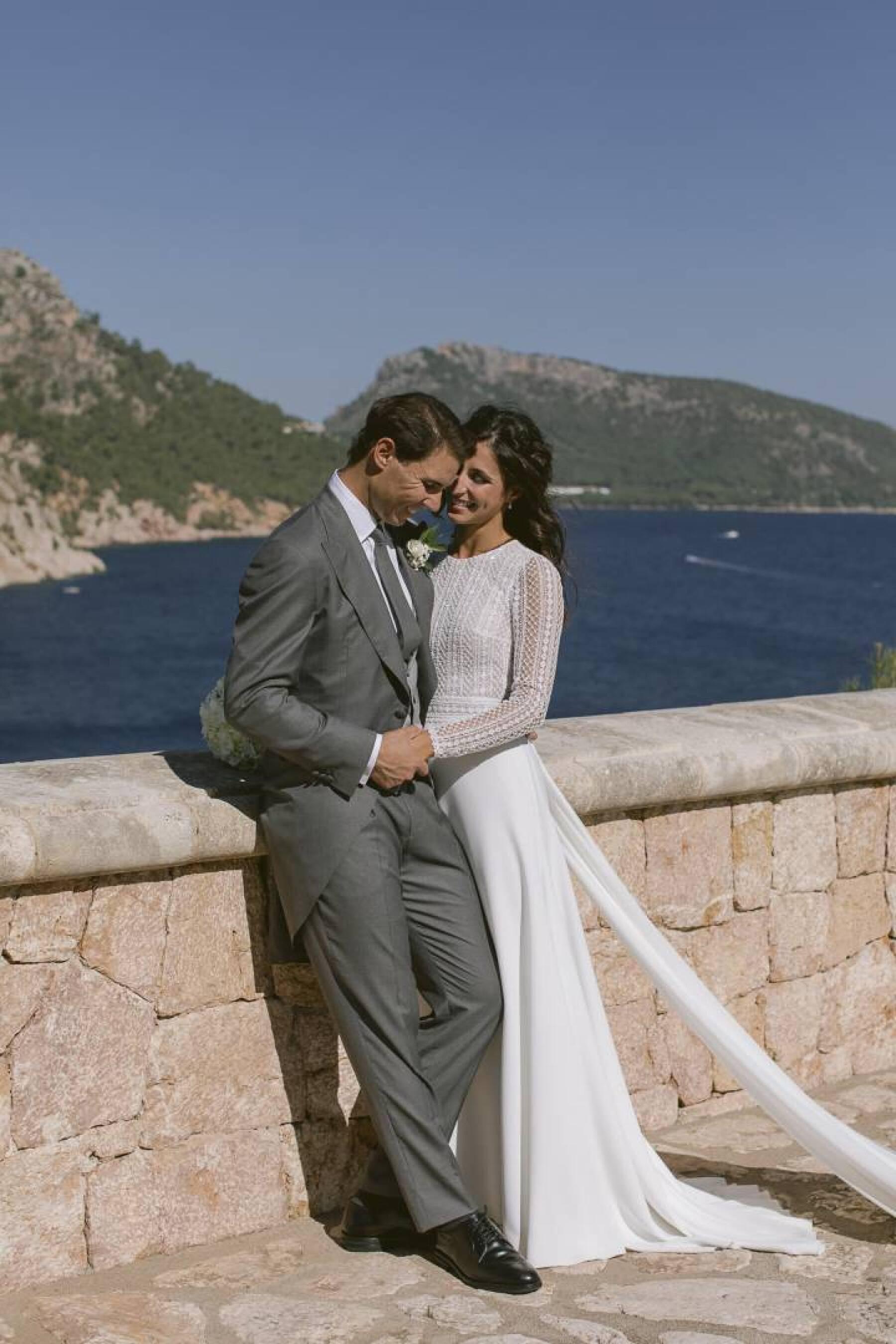 Rafael Nadal y Mery Perelló