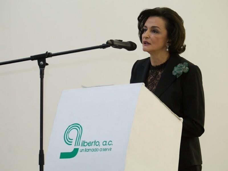 Alexandra de Quintana dio la bienvenida a los presentes