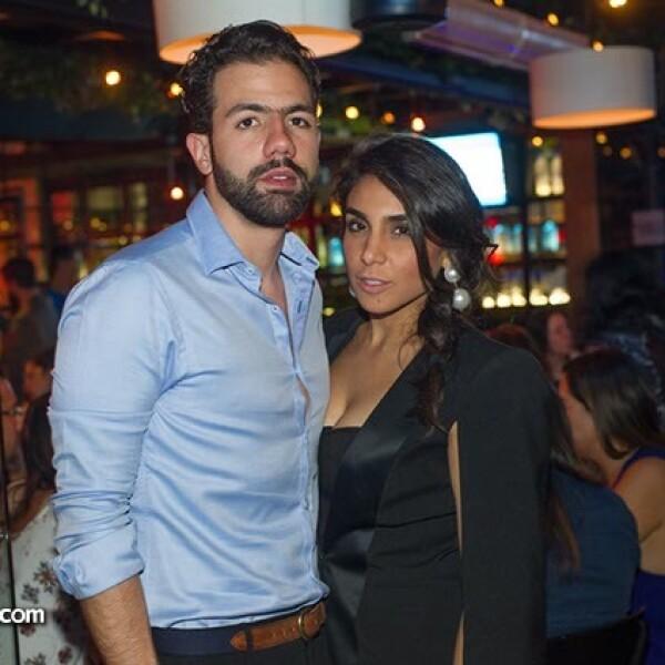 Camilo Rodríguez y Ximena Camarillo