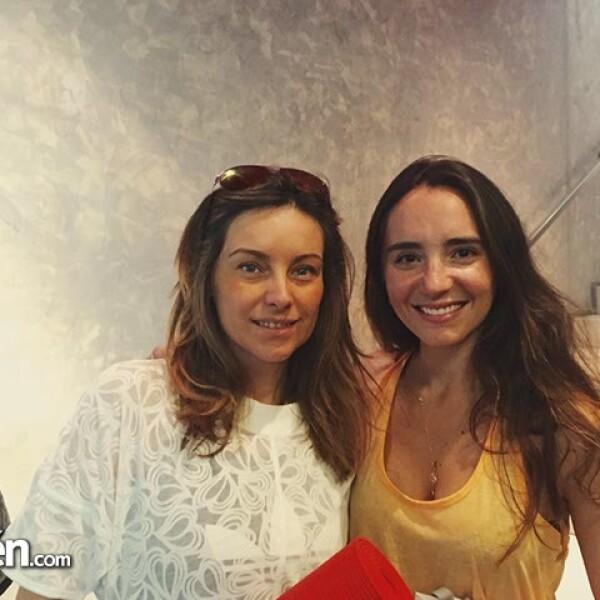 Dominika Paleta y Regina Marco.