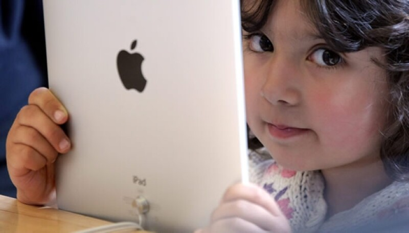 iPad niños tabletas uso