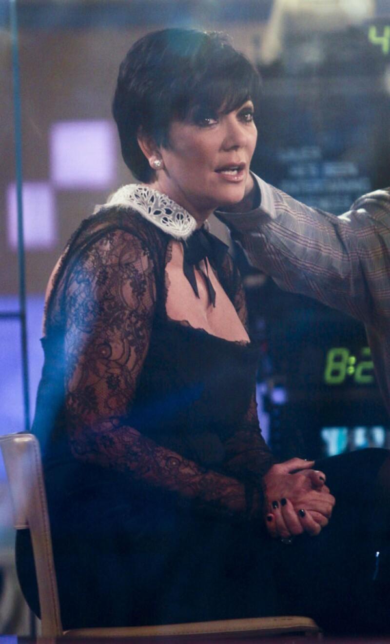 La mamá del clan más famoso de la televisión no siempre acierta con este tipo de vestidos.