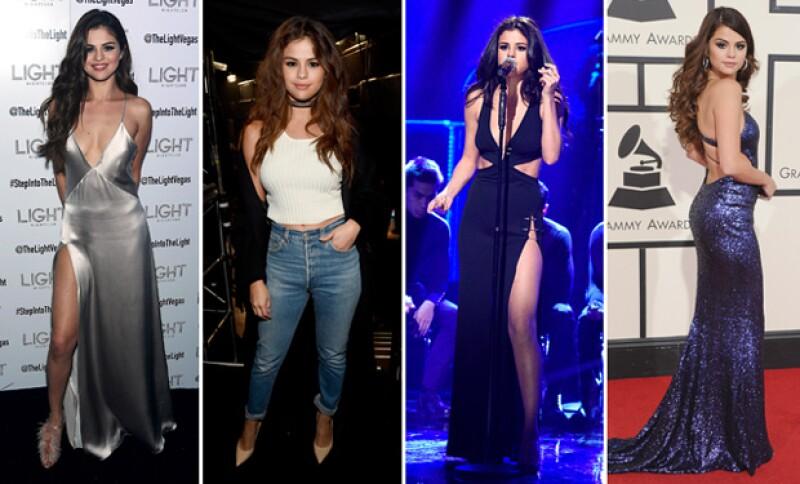 En más de una ocasión Selena ha acaparado las miradas de los medios.