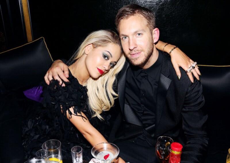 Anteriormente Calvin mantuvo una relación con Rita Ora, a quien terminó y después de que ella intentase que fueran amigos, fracasó.
