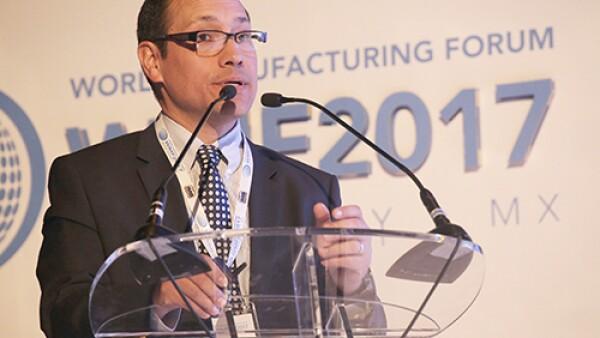 Raúl Rendón, director general de Innovación, Servicios y Comercio Interior de la Subsecretaría de Industria y Comercio