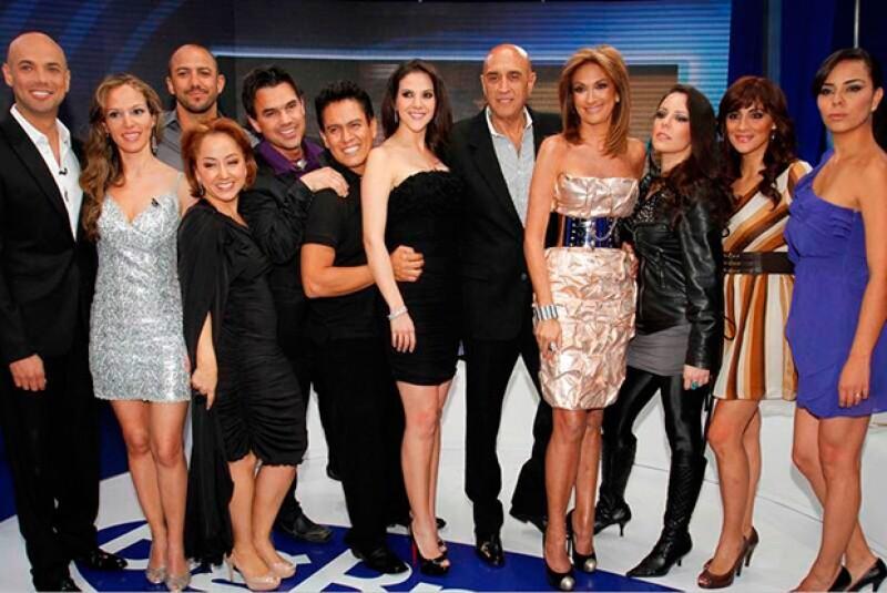 Adela Micha durante la primera emisiónd e Big Brother.