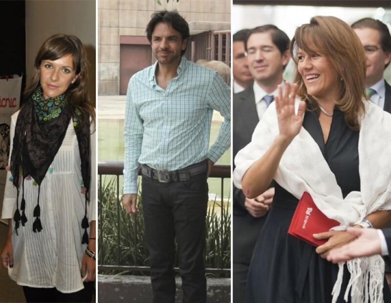 Iliana Fox, Eugenio Derbez y Margarita Zavala mostraron sus posturas después de darse a conocer el posible ganador a la presidencia.