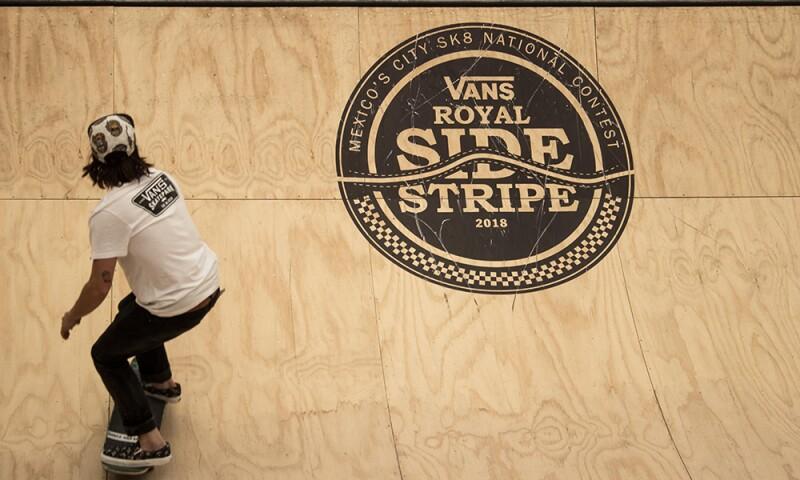 Vans Royal Side Stripe