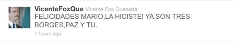 El ex presidente mexicano no sabe que Jorge Luis nunca ganó esa distinción.