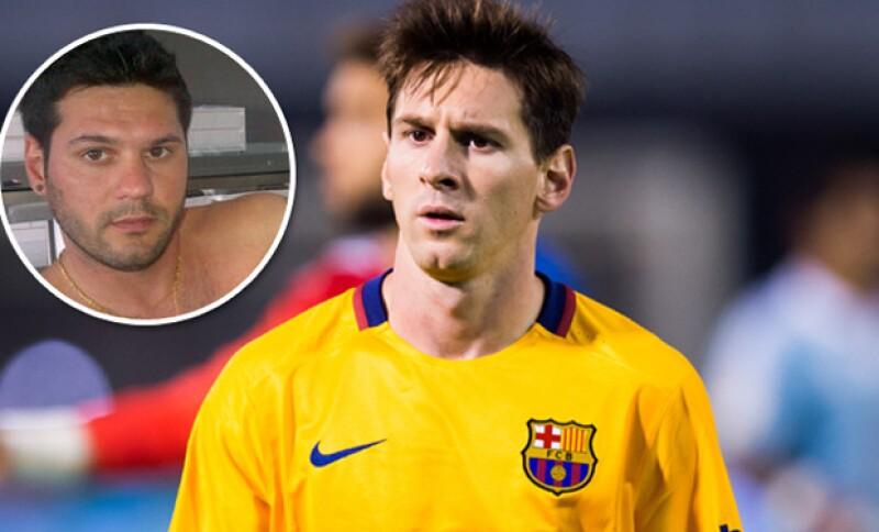 Matías Messi fue llevado a la comisaría cuando un policía encontró en su auto una pistola durante una revisión, en Argentina.