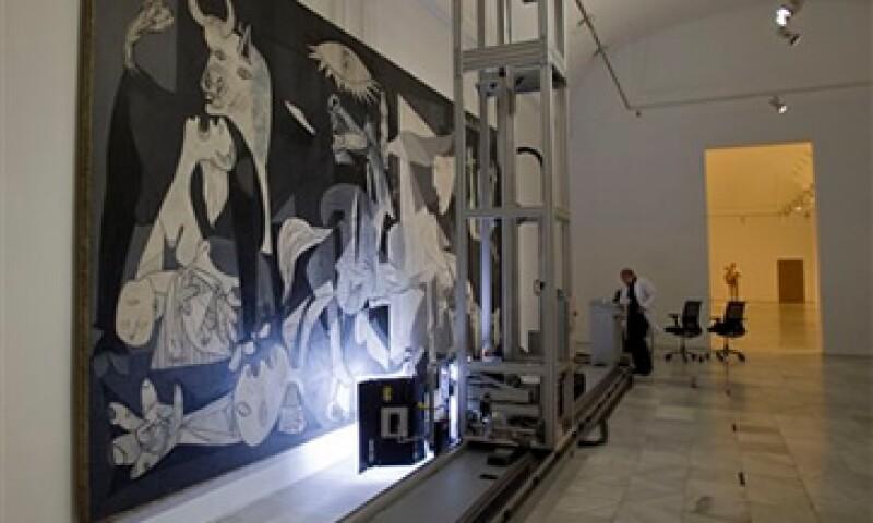 En 1957, el MoMA de Nueva York restauró la obra con la supervisión de Picasso.  (Foto: AP)