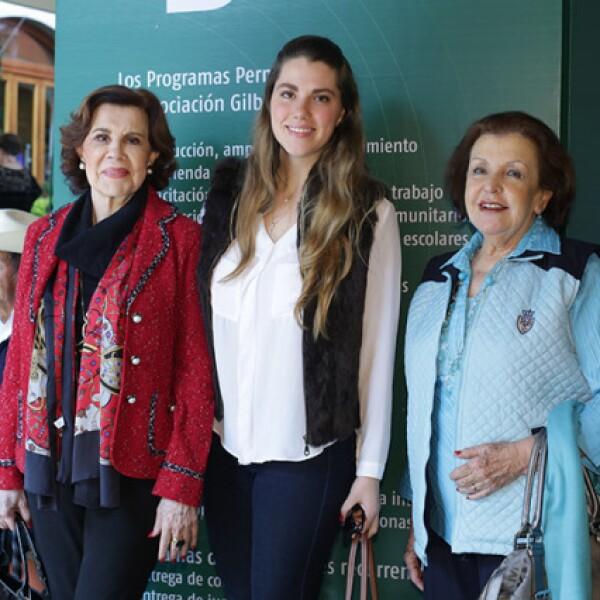 Blanca González,Johanna Gierlichs y Marina de Díez