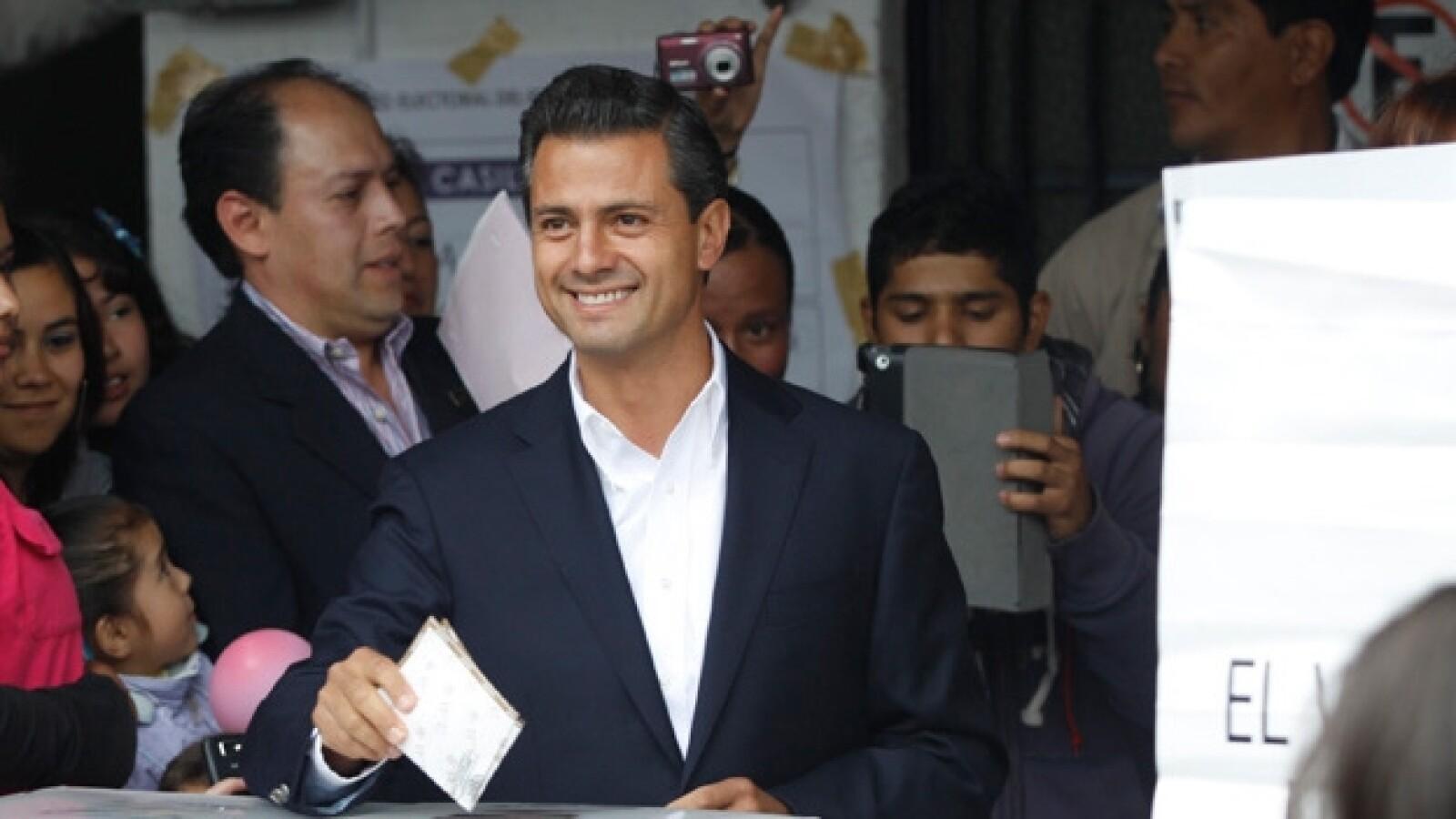 Enrique Pena Nieto voto