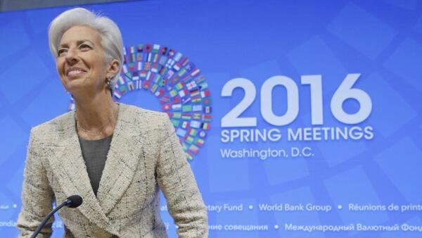 La directora del FMI prometió ayudar a que sus miembros cumplan los objetivos económicos.