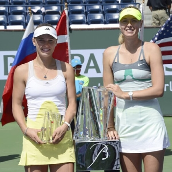 Sharapova y Wozniacki