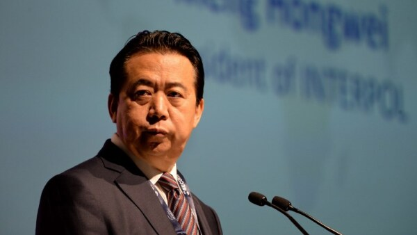 Interpol Francia China Meng Hongwei
