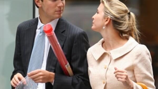 La hija del magnate estadounidense finalmente se casó este domingo con Jared Kushner, editor del New York Observer. La ceremonia se llevó a cabo en el Trump Nacional Golf Club en New Jersey.