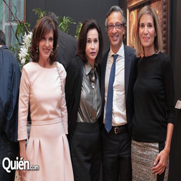 Aimée Servitje, Pepita Serrano, Alfonso Salem, Christiane Salem