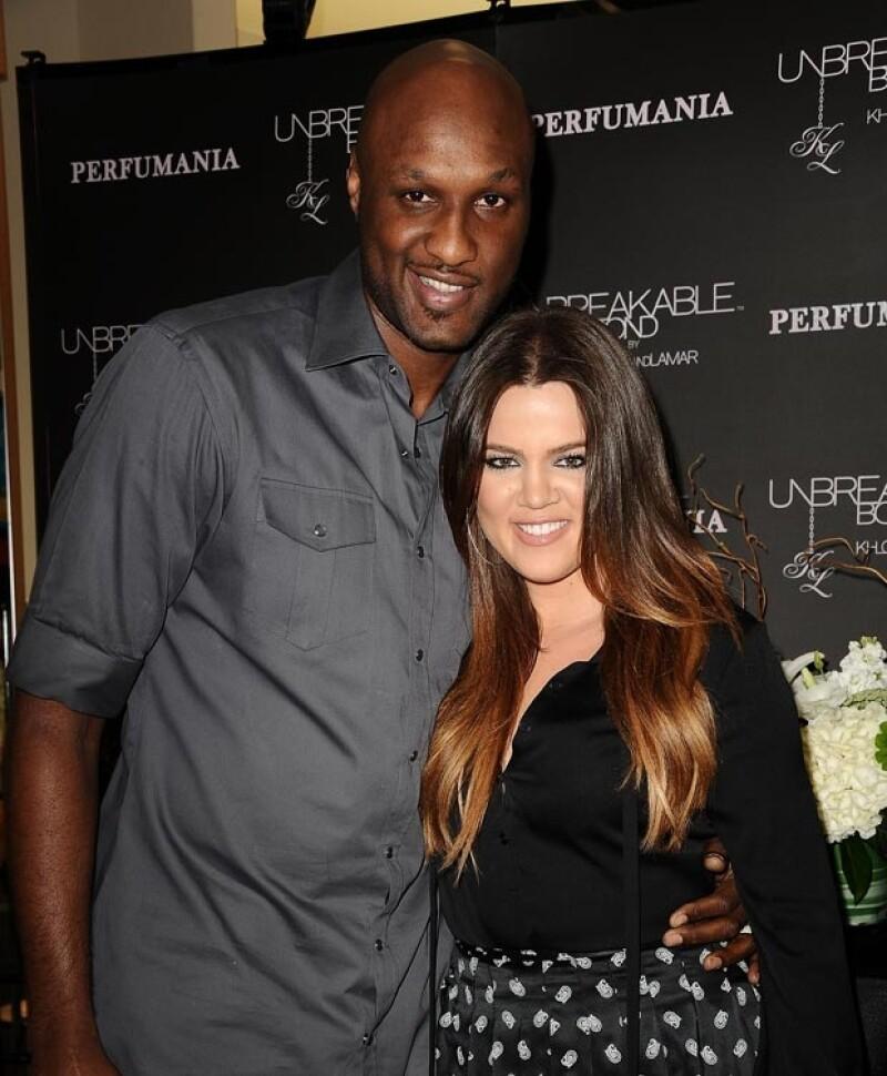 No sabe mucho qué pasa en el matrimonio de Khloé y Lamar.