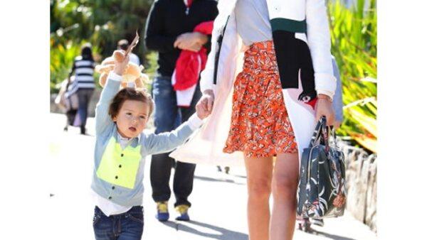 Flynn Bloom, hijo de Miranda Kerr y Orlando Bloom siempre aparece bien vestido, al igual que su mamá.
