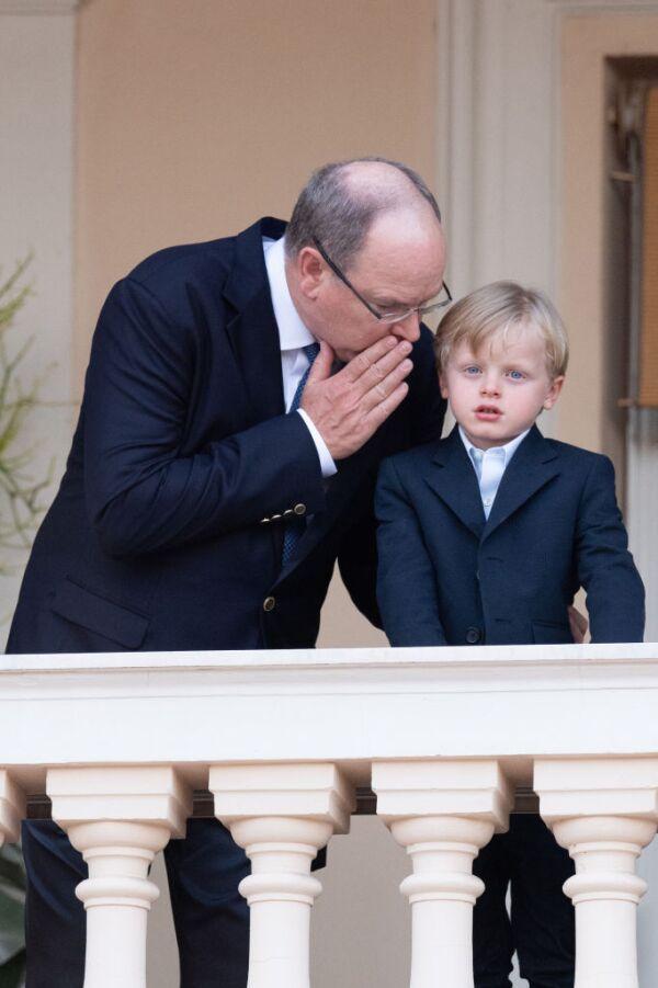 Alberto II de Mónaco y príncipe Jacques