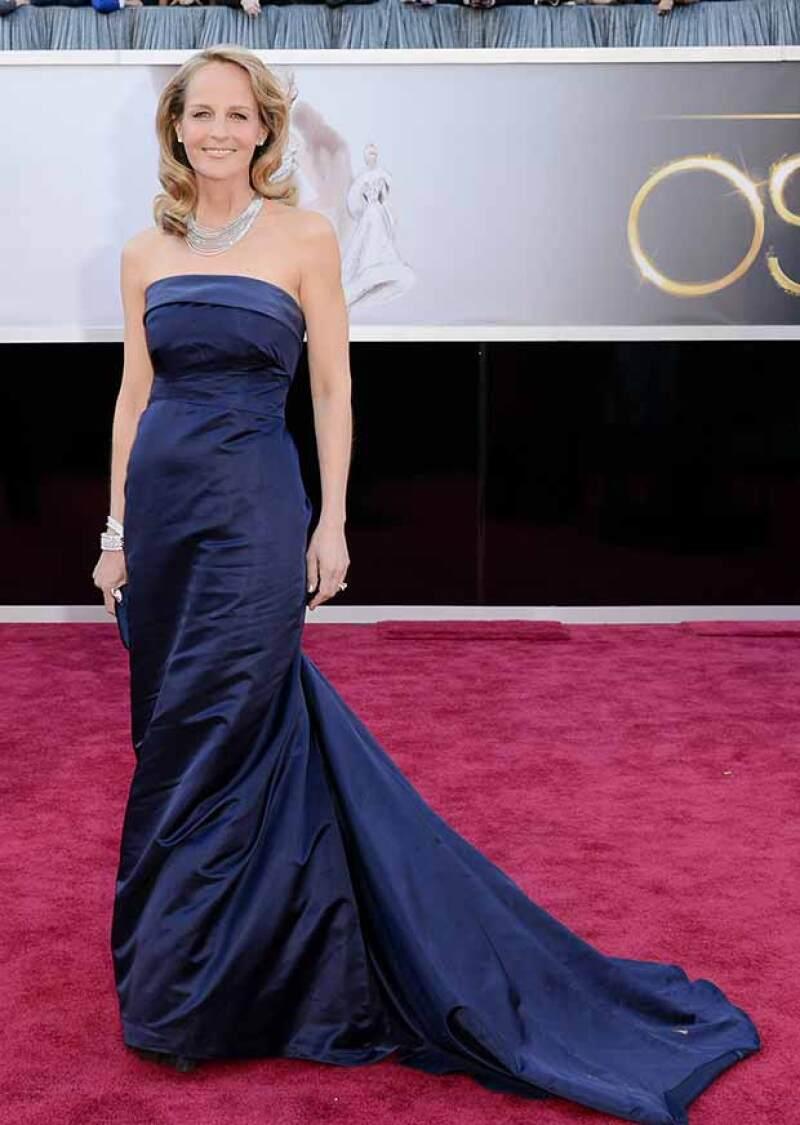 En 2013 la actriz desfiló en la alfombra roja de los Oscar con un vestido con valor de 80 dólares.