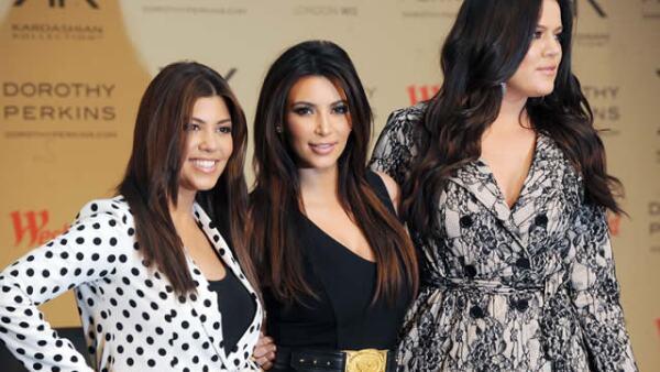 Las hermanas Kardashian.
