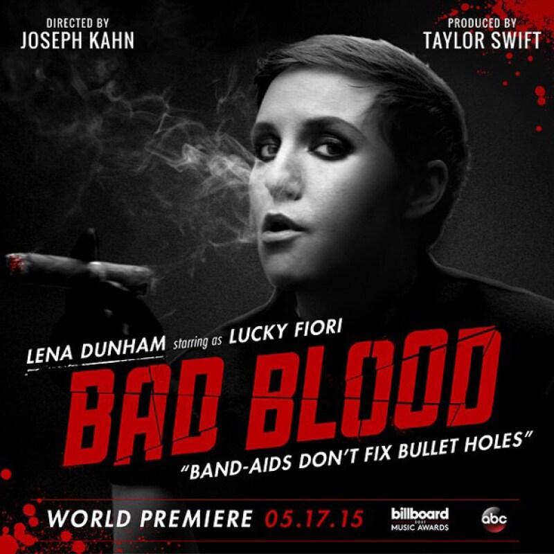 Lena Dunham como Lucky Fiori de la... ¿mafia italiana?