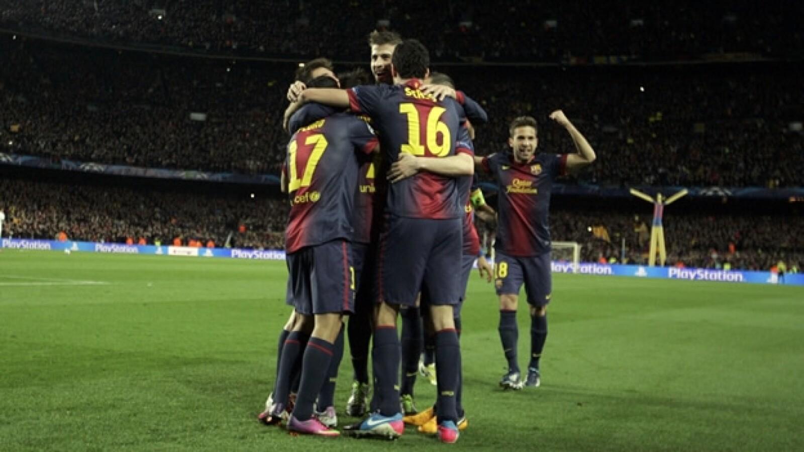 barcelona vs milan