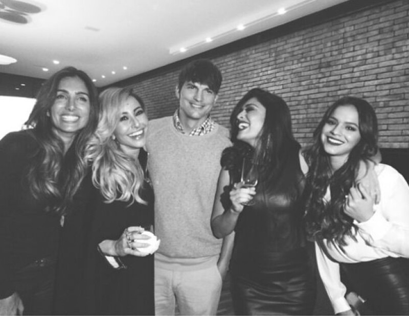 Durante su estancia en Brasil, el actor hollywoodense disfrutó de una fiesta en la cual conoció a la pareja del seleccionado brasileño.