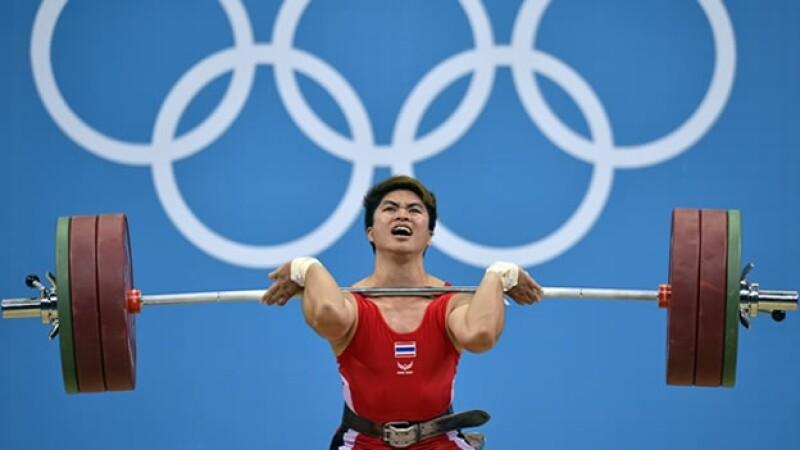 tailandia londres 2012 buda medalla Amornat Sirikaew