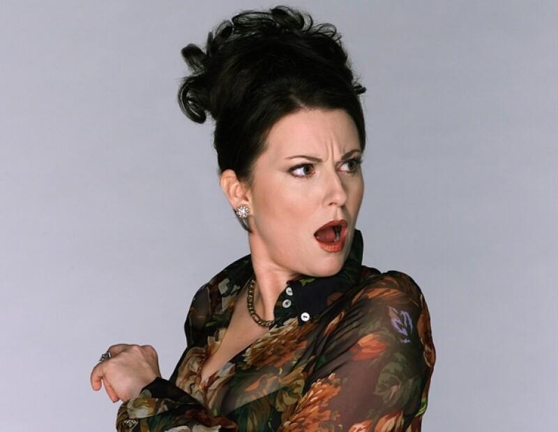 Karen Walker es interpretada por Megan Mullally.