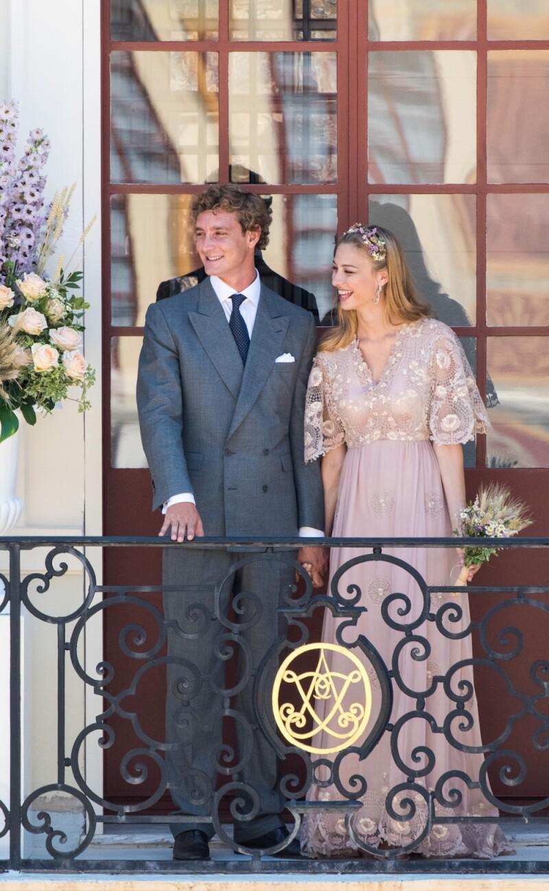 EXC Pierre Casiraghi and Beatrice Borromeo