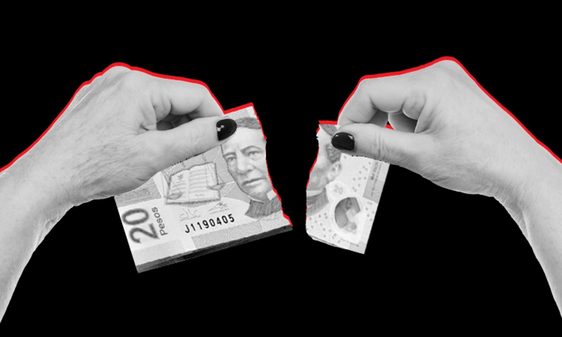 Peso - dólar