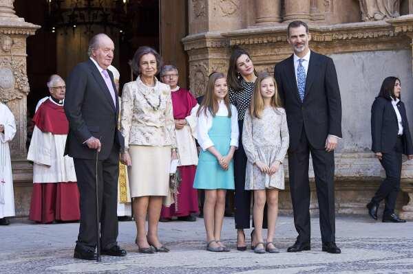 Desencuentro reina Sofía y Letizia