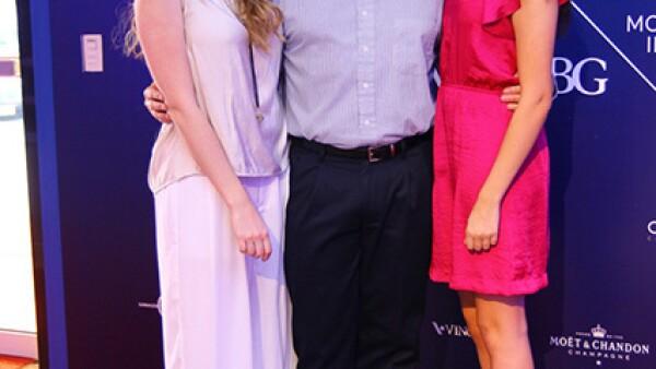 Alejandra Campuzano,Pepe Ramírez y Ana Isabel Campuzano