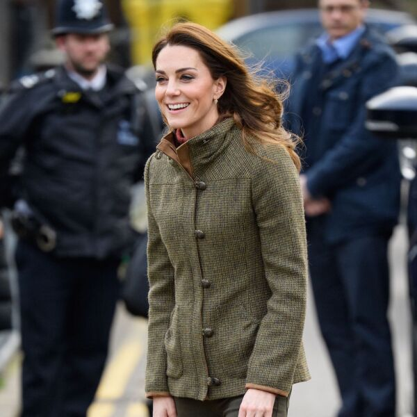 Catherine Duchess of Cambridge visit to King Henry's Walk Community Garden, Islington, London, UK - 15 Jan 2019