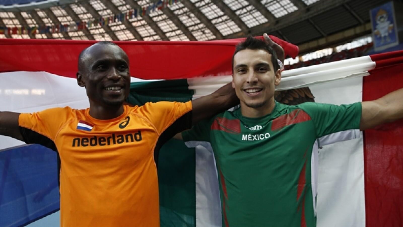 Luis Rivera Ignisious Gaish Mundial de Atletismo Moscu 2013