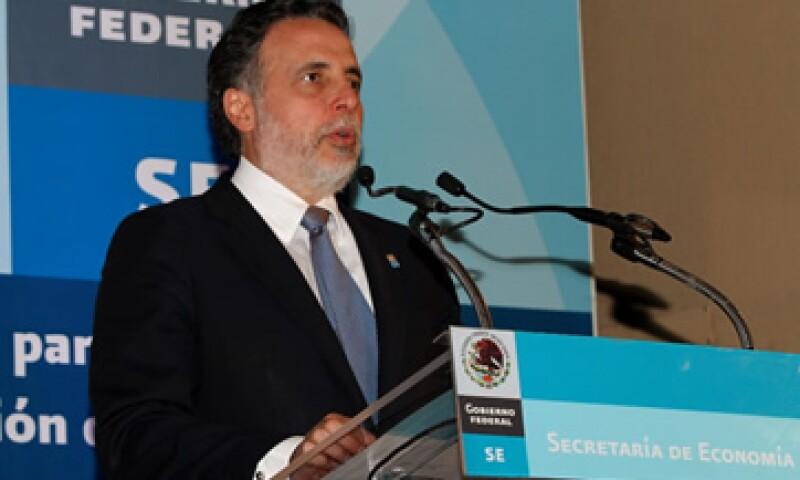 Bruno Ferrari, secretario de Economía, dijo que México se presenta con buenas cifras macroeconómicas. (Foto: Notimex)