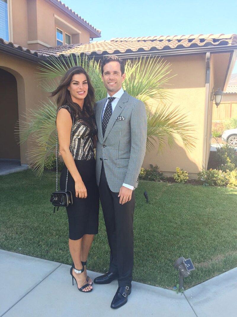La empresaria mexicana anunció el año pasado su boda con Alejandro, y meses después su embarazo.